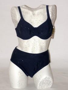 Dámské dvoudílné modré plavky s kosticí 8891 Timo 85 B cd7a0fae97