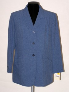 bbb22e62f53 Dámské klasické sako modré 9021 Izabela 44