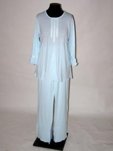 f73f4c77ecf Pyžamo s třičtvrtečními rukávy a dlouhé kalhoty 9019 Prako 36   38