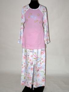 eac86304c3e Bavlněné dámské pyžamo s dlouhým rukávem 4015 Prako 40   42
