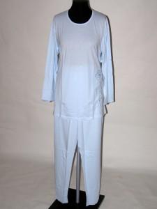 Pyžamo dámské s dlouhým rukávem 9007 Prako modré 40   42 a9d9bf1a66