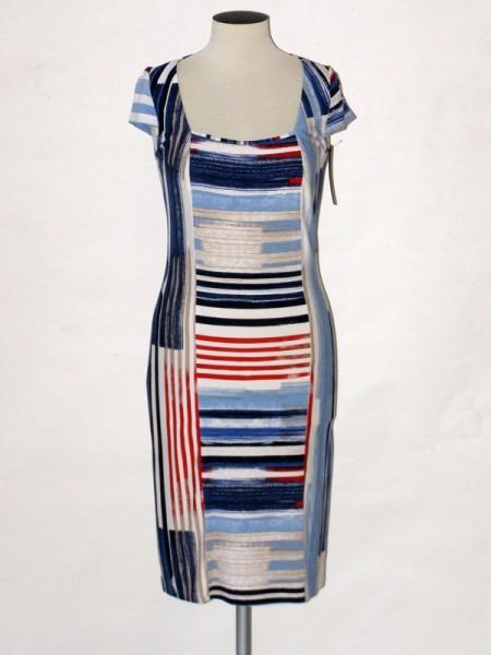 Dámské elegantní letní šaty s krátkým rukávkem Andrea Martiny 38 f7539fea0d