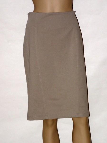 Béžová úzká sukně 3012 Andrea Martiny 42 2039d9b2b1