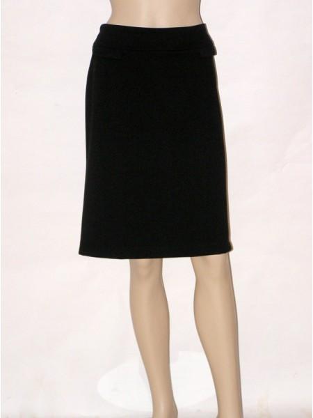Černá zimní sukně s podšívkou 3112 Andrea Martiny 44 fb95e1d8de