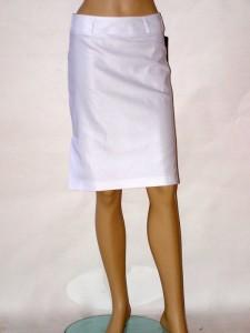 09ae1da8e7f Bílá elegantní letní sukně 1313 Andrea Martiny 36