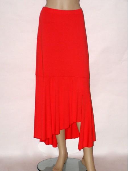 c9b8c71da4e Oranžová dlouhá letní sukně 6063 Sabatti 42