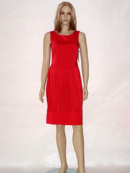 Červené letní šaty bez rukávů 5913 Andrea Martiny 36 4c48751939