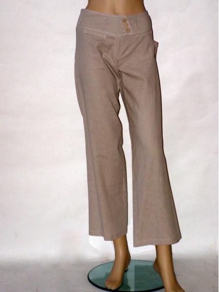 50141caef4c Béžové letní kalhoty 1905 Andrea Martiny 36