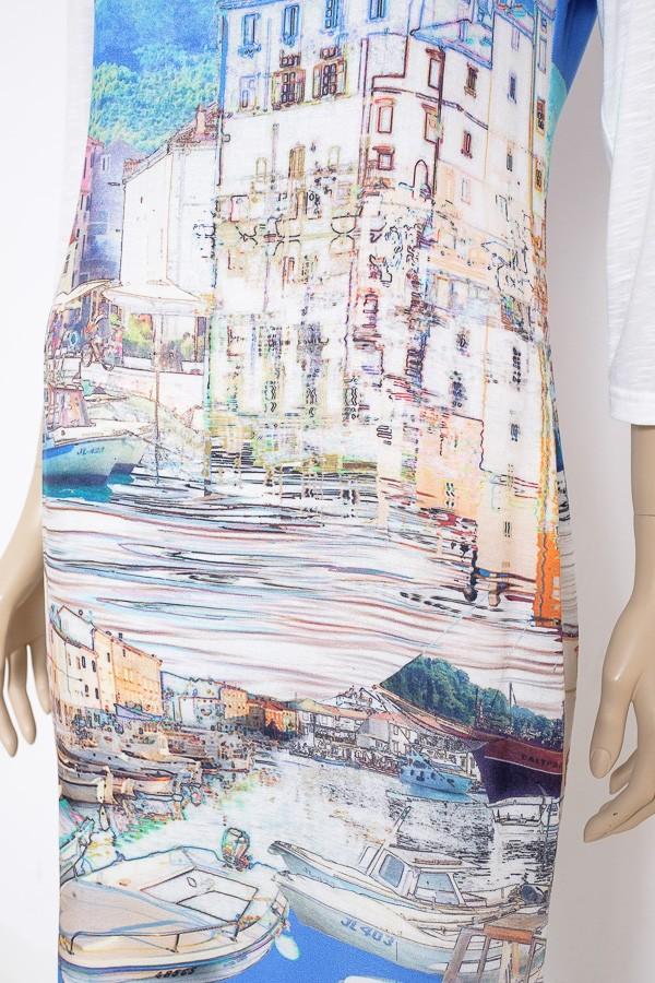 ... Letní elegantní šaty s tříčtvrtečním rukávem 4216 Andrea Martiny 36 446f898baa