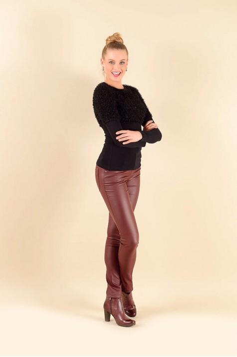 Černé elegantní dámské tričko 6216 Andrea Martiny 36 981e4c0045