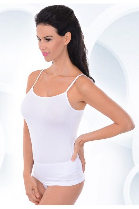 Bílá spodní košilka z modalu Lenka Spoltex 46 f40817ed2c