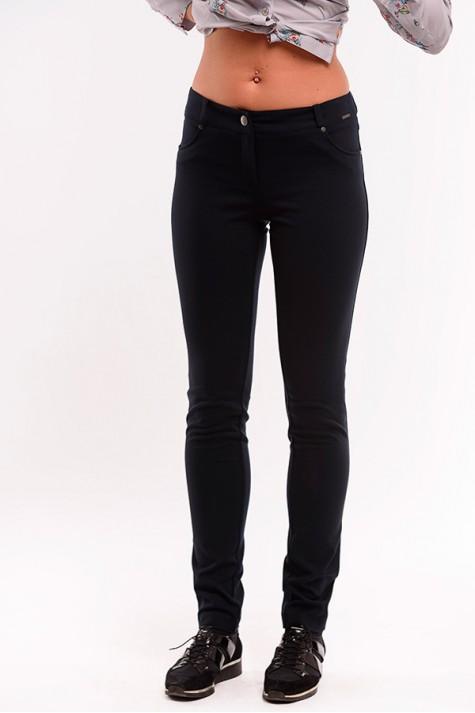 f5b4b6883b8 Černé úzké úpletové kalhoty 2618 Andrea Martiny 36