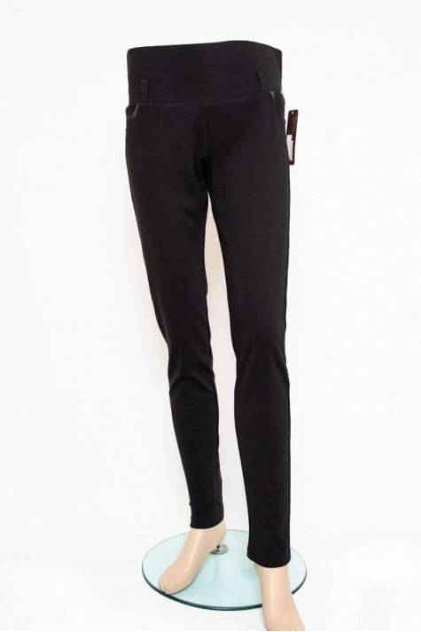 Černé úzké elastické kalhoty 2518 Andrea Martiny 38 badc4f6451
