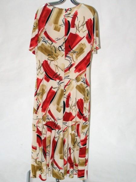 18d666aada5 Dlouhé letní šaty s krátkým rukávem Sabatti 50