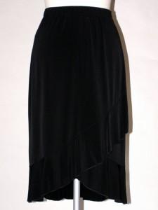 Černá elastická sukně 6637 Sabatti 40 e4ff8242f7