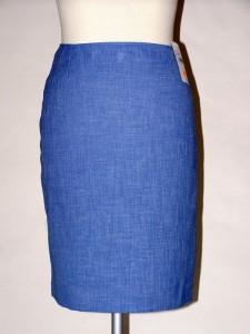 bc1f68c53b7 Modrá úzká sukně 1010A9 Izabela 42