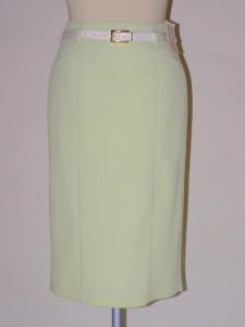 62f45a1cef5 Zelená úzká sukně 705100 Izabela 36