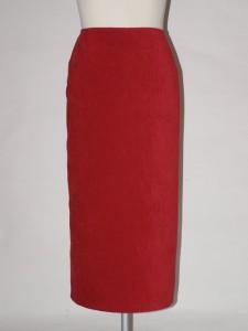 Červená úzká sukně 1203B0 Izabela 44 00ff2ddab9