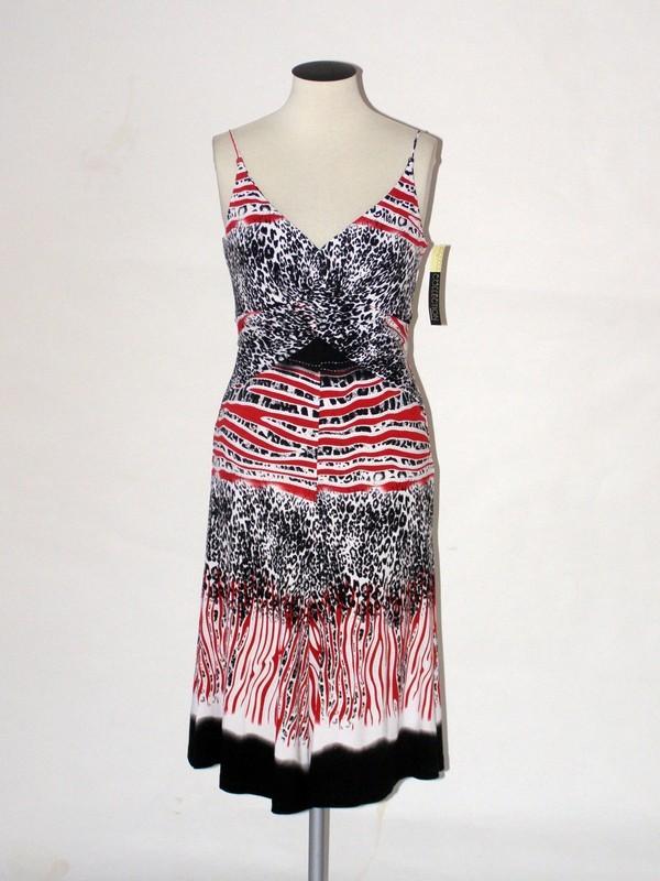 Dámské elastické ramínkové šaty 4409 Andrea Martiny 36