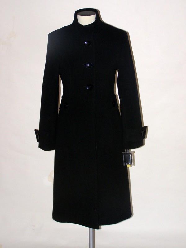 Flaušový krátký kabát se stojáčkem 1709 Andrea Martiny 36