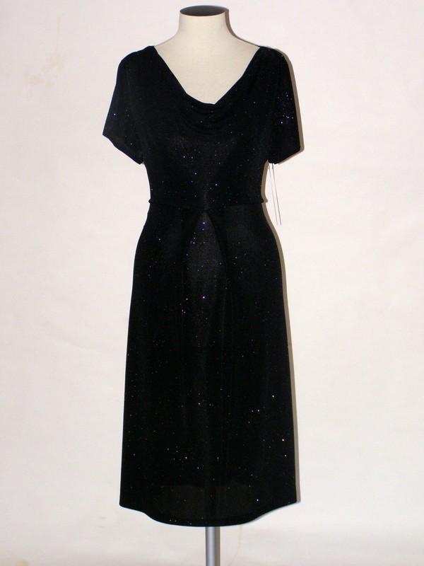 Společenské krátké elastické šaty 0709 Andrea Martiny 40