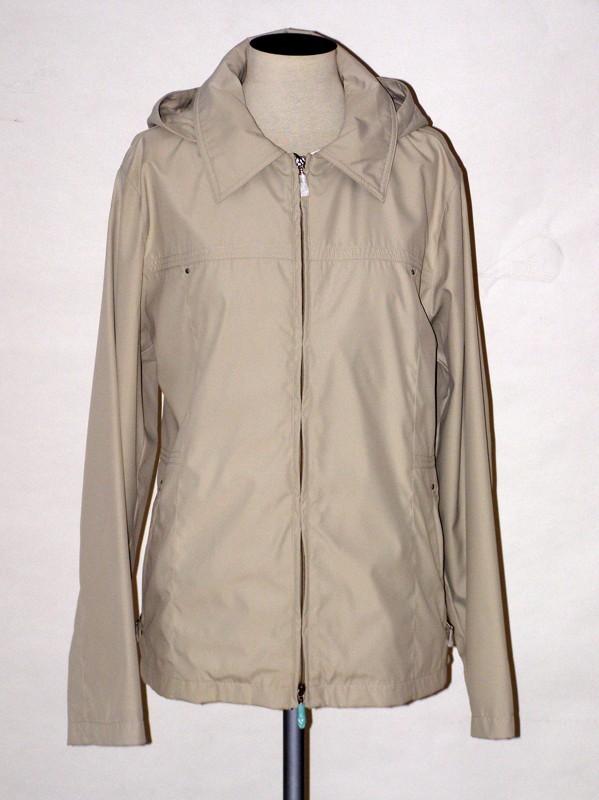 Dámská jarní bunda s podšívkou B4038 Veltex béžová velikost 50