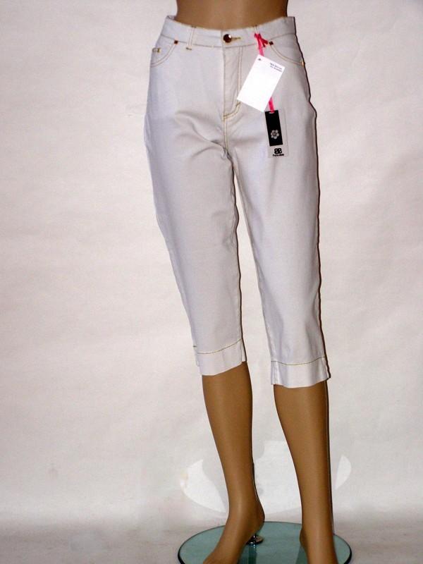 Bílé třičtvrteční letní kalhoty PG550 Veltex 46