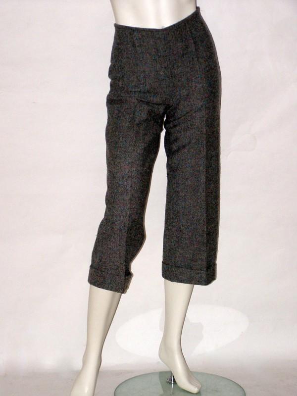 Tvídové zimní kalhoty 120604 Izabela 36, 42