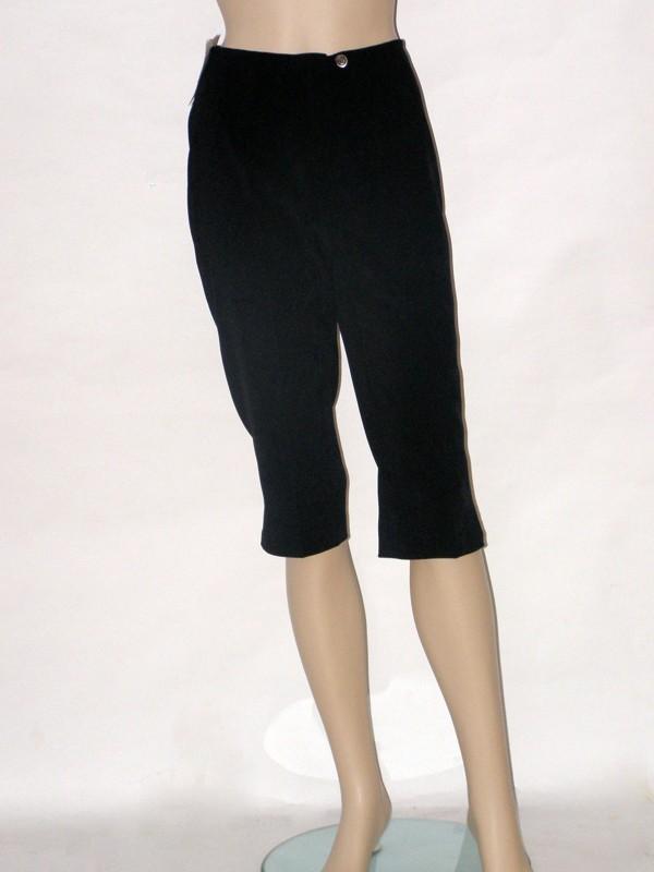 Černé třičtvrteční kalhoty 903900 Izabela 36, 38