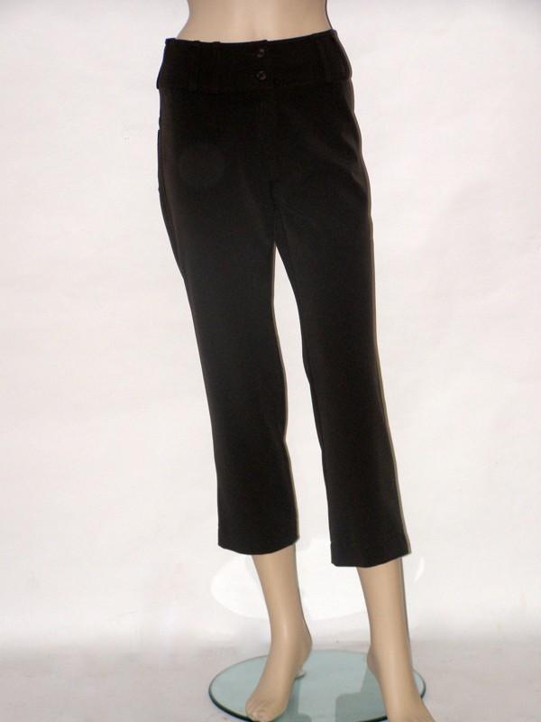 Hnědé třičtvrteční kalhoty 2809 Andrea Martiny 36