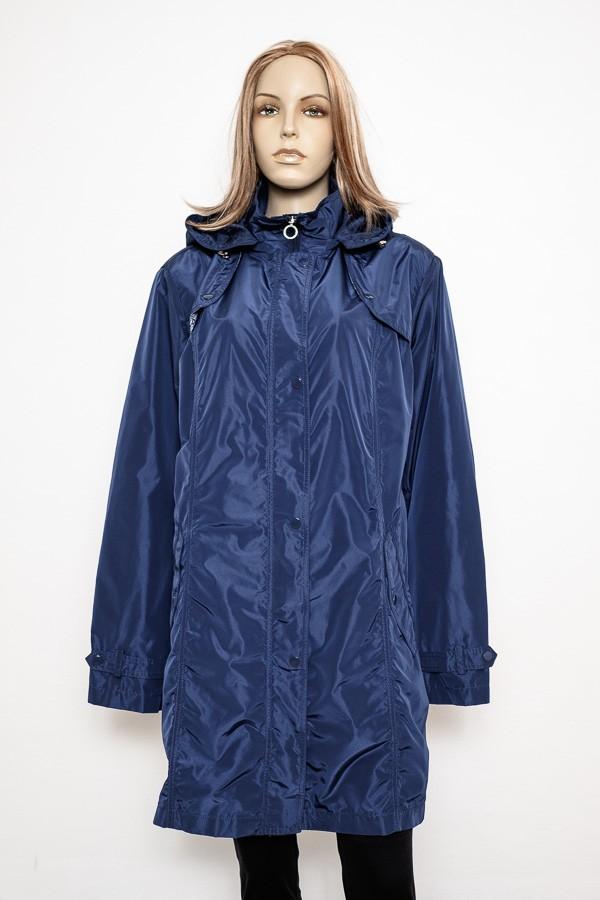 Modrá jarní, letní, podzimní dámská delší bunda 4015 Veltex 52