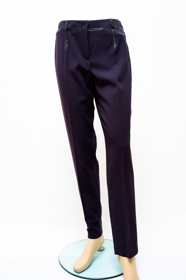 Černé elegantní kalhoty 2116 Andrea Martiny 42